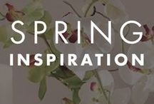 Spring Inspiration / Spring offers the chance for new beginnings. Capture all those fresh and exciting possibilities with this collection of spring-inspired designs. Use bright colors and modern designs to turn your home into a beautiful space.