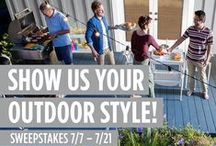 BEHR Outdoor Style Inspiration / From fabulous yardscapes to party-perfect patios and decks, your outdoor space can often be the best part of your home. / by BEHR Paint