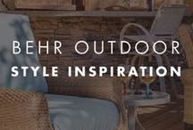 BEHR Outdoor Style Inspiration / From fabulous yardscapes to party-perfect patios and decks, your outdoor space can often be the best part of your home.
