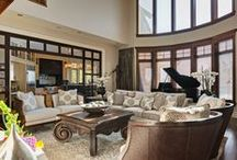 Estate Home Renovation / This elegant estate home has a touch of everything. Elegance, grandeur and complete perfection. The high ceilings and elegant furniture make a bold statement.