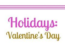 Holidays: Valentine's Day / I love love. And I love an excuse to celebrate the ones you love. Romance, dates, decorating, date ideas, gifts, crafts, DIY