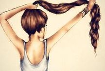All Things: Hair / by Tiffany Gorum