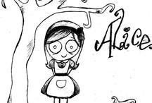 Alice in Wonderland  / Um roteiro cheio de silogismos lógicos e uma aparência artística obscura o suficiente para atrair olhares e marcar lembranças.....