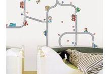 sasha's transportation playroom / by Yulia Vizel