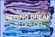 Spring Break in Color / by Silver Jeans Co.