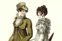 """Regency Fashion Plates / Loosely defining """"Regency"""" as mid-1790s to mid-1820s"""
