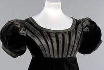 "Regency Costume: Blacks and Browns / Loosely defining ""Regency"" as mid-1790s to mid-1820s"