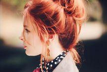 Hair things. / by Hannah Cravy