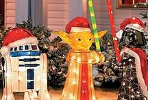 GEEK CHRISTMAS / Celebrating Christmas the cute and geeky way.  Imagine candy coloured decorations and fandom inspired ornaments.
