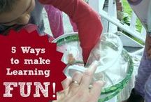 Home Schooling / Ideas, crafts, learning activities and more!