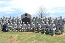 Army Team Captains Visit Gettysburg / The 2014-15 Army team captains took an educational trip to Gettysburg in early May 2014. While there, they participated in team building and strategy exercises designed to help cultivate leadership skills.  / by Army West Point