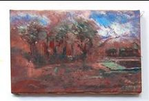 Landscapes / Oil paintings by Eugene Gregan on hand stretched 100% Belgian linen. Hand ground Dutch pigments. Heirloom Quality.