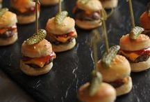 PARTY FOOD / Recipes for canapes and part food
