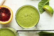 Detox Smoothies / Smoothies are ideal for DETOXING because they can flush toxins and other nasty stuff out of your body.