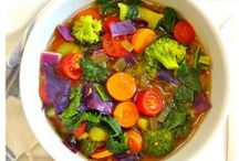 Detox Soups / Lots of English and German Recipes for DETOX SOUPS to Revitalize and Cleanse your system!