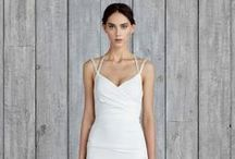 Let's Shop: Wedding Dresses / White - and not so white - wedding dress inspiration. #weddings #bridal