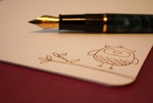 i [heart] snail mail / All for the love of: #stationery #penpal #letter #snailmail  / by Marya Grant