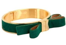 Color Inspiration: Emerald Green / Emerald Green is the Pantone Color of the Year for 2013. Here are some of our favorite emerald green fashion and jewelry picks.