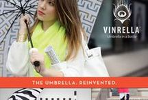 Vinrella - an umbrella in a bottle! / Vinrella is the umbrella reinvented, but besides its useful function, it just looks cool. Each Vinrella umbrella stores away in what appears to be a bottle of wine. Twist off the stem of the bottle and it is revealed as the handle of the coordinating umbrella hidden inside.