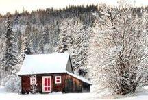 Winter Cabin Style