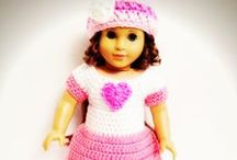 Crochet - Dolls (American Girl), Clothes, Accessories / by Rhonda Halstead