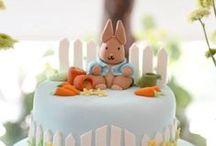 """Peter rabbit"" theme birthday party"