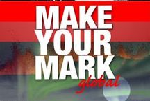 Make Your Mark Global / POSITION + PROMOTE YOUR BRAND IN THE GLOBAL MARKETPLACE!  Want to STAND OUT from the crowd? Want people to sit up and TAKE NOTICE when you speak? Ready to share your message with the world through the media and BE SEEN AS THE EXPERT in your field?  Which steps should you take to market yourself? How do you build a unique brand that's both purposeful and profitable WHILE getting the world's attention?  Iceland, September 18th-20th 2015 www.makeyourmarkglobal.com  / by Thoranna Jonsdottir