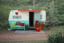 Travel home / Roulottes et autres maisonnettes mobiles.