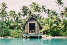 Cabanes et maisonnettes / Cabanes et maisonnettes pour s'isoler et prendre du temps pour soi.