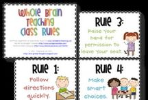 Classroom Management / Pins about rules and procedures