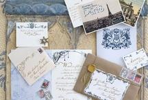 Wedding invitations - trouwkaarten / Prachtige trouwkaarten om iedereen te vertellen dat jullie gaan trouwen. / by Wedspiration - leuke ideeen voor je bruiloft