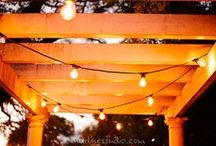 Festoon Cafe String Lights / www.ildlighting.com / by Intelligent Lighting Design (ILD Lighting)