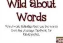Word work: spelling and sight words / Pins all about learning and practicing sight words and spelling words