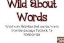 Word work: spelling and sight words / Pins all about learning and practicing sight words and spelling words  / by Kerri Buckner