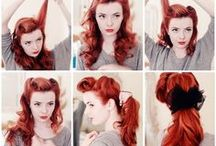 Hair / Fun hair color and hair styles / by Jessica Lefebvre