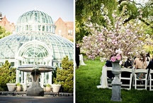 Botanical Gardens Spring Wedding / Brooklyn NY Event Design by Ambiance Luxe Flowers by KD&J Botanica Studio