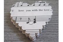 Wedding theme: music - Bruiloft thema: muziek / Gebruik het thema MUZIEK als muziek en belangrijk onderdeel is van jullie leven! / by Wedspiration - leuke ideeen voor je bruiloft
