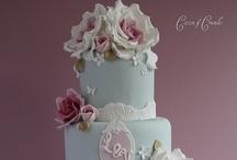 Wedding cake - bruidstaart / Echt prachtige bruidstaarten die je niet wil op eten! / by Wedspiration - leuke ideeen voor je bruiloft