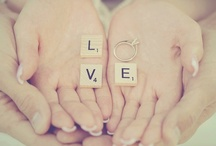 Wedding theme: Scrabble letters- Bruiloft thema: Scrabble letters