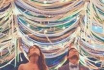 Wedding theme: Ribbons - Bruiloft thema: Linten / Een leuk thema voor jullie bruiloft: linten. Makkelijk om een locatie, stoeltje of bruidsboeket mee te versieren.  / by Wedspiration - leuke ideeen voor je bruiloft