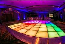 iDesign LED Dance Floor / The iDesign Dance Floor can be used as runways and backdrops. With our wireless control iPad system, the colors can be programmed to your liking and can even change to the beat of the music. www.ildlighting.com