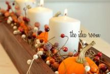 Fall Holiday Foods & Decorations
