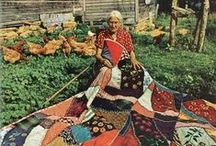 Stories from the Rag Bag / Remembering the rag bag, button baskets, and sewing circles.