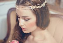 Gold headpieces