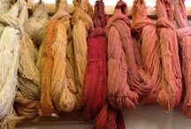Natural & Unusual Dyes / Unusual materials, foods, and plants for dying fibers.