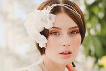 Dreamy flower headpieces