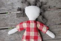 Cloth Dolls and Toys / Rag dolls and soft toys handmade by myself and others.