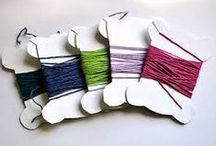 Embroidery Floss Storage / How to store threads and floss.