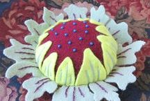 Pincushions and Needlebooks / Keeping sewing and embroidery needles handy and well-cared for.