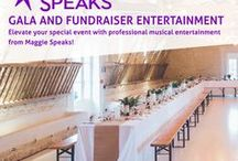 Gala and Fundraiser Entertainment / Elevate your special event with professional musical entertainment from Maggie Speaks! Learn more at http://www.chicago-bands.com/band/maggie-speaks/. #maggiespeaks #specialevent #fundraiser #gala